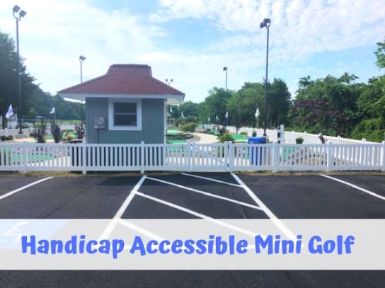 campground mini gold ada entrance camping