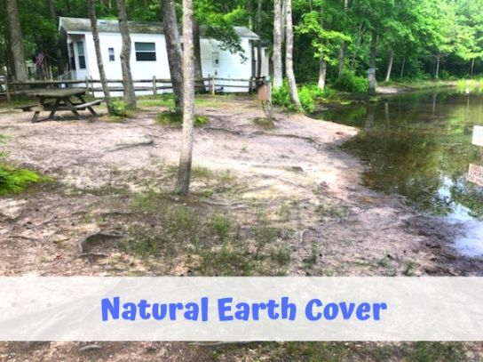 campground earth cover campsite