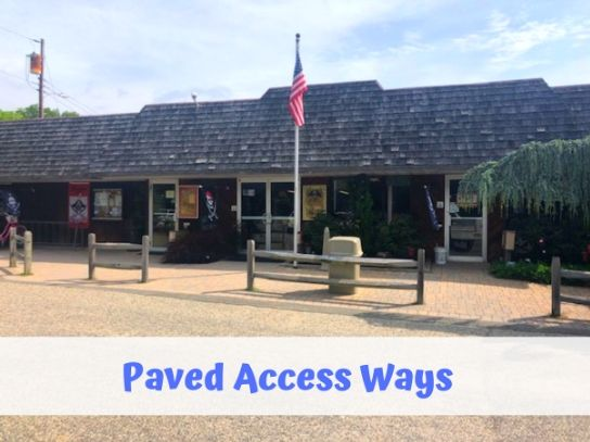 ada paved access to campground office